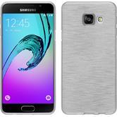 Silikonhülle für Samsung Galaxy A3 (2016) A310 brushed weiß
