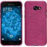 Silikon Hülle Galaxy A3 2017 brushed pink