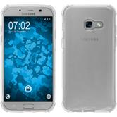 Silikon Hülle Galaxy A3 2017 Shock-Proof clear + 2 Schutzfolien