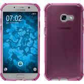 Silikon Hülle Galaxy A3 2017 Shock-Proof pink