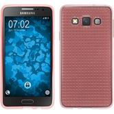 Silikonhülle für Samsung Galaxy A3 (A300) Iced rosa