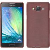 Silikonhülle für Samsung Galaxy A3 (A300) brushed rosa