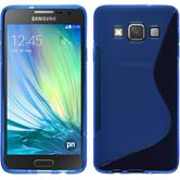 Silikon Hülle Galaxy A3 (A300) S-Style blau