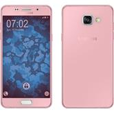 Silikon Hülle Galaxy A5 (2016) A510 360° Fullbody rosa Case