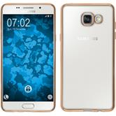 Silikon Hülle Galaxy A5 (2016) A510 Slim Fit gold
