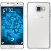 Silikon Hülle Galaxy A5 (2016) A510 Slim Fit silber