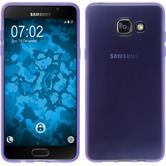 Silikon Hülle Galaxy A5 (2016) A510 transparent lila
