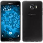 Silikon Hülle Galaxy A5 (2016) A510 transparent schwarz