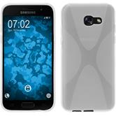 Silikon Hülle Galaxy A5 2017 X-Style clear + 2 Schutzfolien