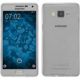 Silikon Hülle Galaxy A5 (A500) 360° Fullbody grau