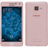 Silikon Hülle Galaxy A5 (A500) 360° Fullbody rosa