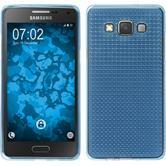 Silikon Hülle Galaxy A5 (A500) Iced hellblau