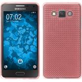 Silikon Hülle Galaxy A5 (A500) Iced rosa
