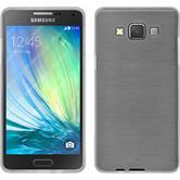 Silikonhülle für Samsung Galaxy A5 (A500) brushed weiß