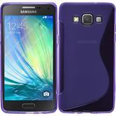 Silikon Hülle Galaxy A5 (A500) S-Style lila