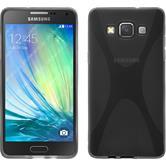 Silikon Hülle Galaxy A5 (A500) X-Style grau