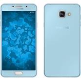 Silikon Hülle Galaxy A7 (2016) A710 360° Fullbody hellblau Case
