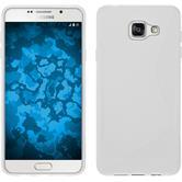 Silikon Hülle Galaxy A7 (2016) A710 S-Style weiß