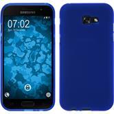 Silicone Case Galaxy A7 (2017) matt blue