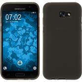 Silicone Case Galaxy A7 (2017) matt gray