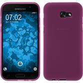 Silicone Case Galaxy A7 (2017) matt pink
