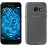 Silikon Hülle Galaxy A7 (2017) Slimcase clear + 2 Schutzfolien