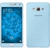 Silikon Hülle Galaxy A7 (A700) 360° Fullbody hellblau Case