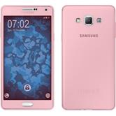 Silikon Hülle Galaxy A7 (A700) 360° Fullbody rosa