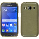 Silicone Case for Samsung Galaxy Ace 4 brushed gold
