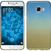 Silikon Hülle Galaxy C5 Ombrè Design:02 + 2 Schutzfolien