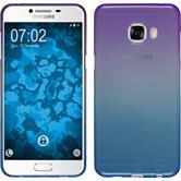 Silikon Hülle Galaxy C5 Ombrè Design:04 + 2 Schutzfolien
