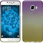 Silikon Hülle Galaxy C5 Ombrè Design:05 + 2 Schutzfolien