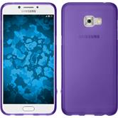 Silikon Hülle Galaxy C5 Pro matt lila