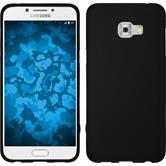 Silikon Hülle Galaxy C5 Pro matt schwarz