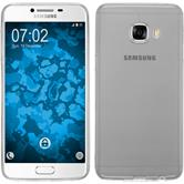 Silikon Hülle Galaxy C5 Slimcase clear + 2 Schutzfolien