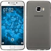 Silikonhülle für Samsung Galaxy C5 Slimcase grau