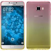 Silikon Hülle Galaxy C7 Ombrè Design:01 + 2 Schutzfolien