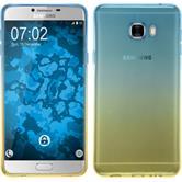 Silikon Hülle Galaxy C7 Ombrè Design:02 + 2 Schutzfolien