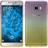 Silikon Hülle Galaxy C7 Ombrè Design:05 + 2 Schutzfolien