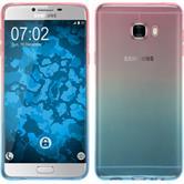 Silikon Hülle Galaxy C7 Ombrè Design:06 + 2 Schutzfolien