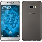 Silikon Hülle Galaxy C7 Slimcase grau