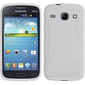 Silicone Case for Samsung Galaxy Core S-Style white