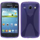 Silicone Case for Samsung Galaxy Core X-Style purple