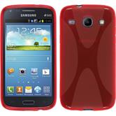 Silicone Case for Samsung Galaxy Core X-Style red