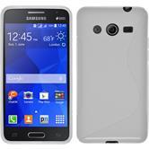 Silikon Hülle Galaxy Core 2 S-Style weiß