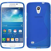 Silicone Case for Samsung Galaxy Core Lite S-Style blue