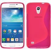 Silicone Case for Samsung Galaxy Core Lite S-Style hot pink