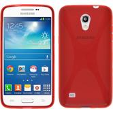 Silicone Case for Samsung Galaxy Core Lite X-Style red