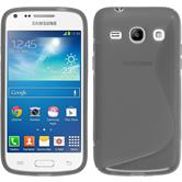 Silicone Case for Samsung Galaxy Core Plus S-Style gray