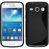 Silicone Case for Samsung Galaxy Core Plus S-Style black